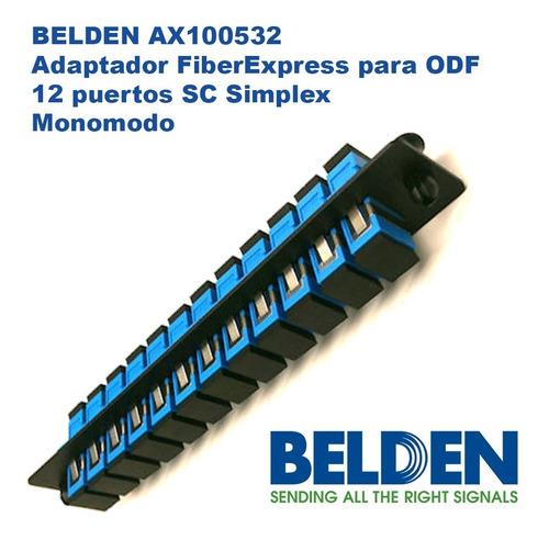 Belden Ax100532 Adapt. Fiberexpress Sm P/odf 12 Sc Simplex