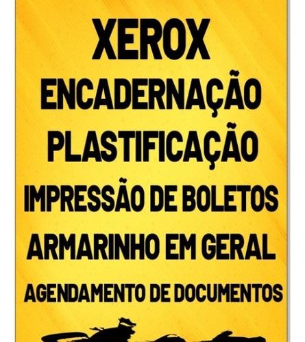Imagem 1 de 2 de Impressão De Boletos, Encadernação, Plastificação,scanners