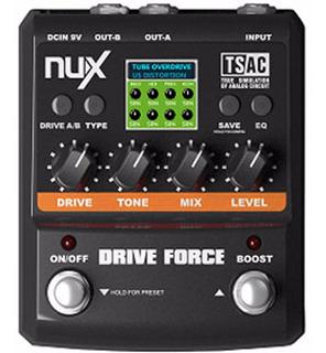 Pedal Nux Amp Force Emulador De Amplificadores