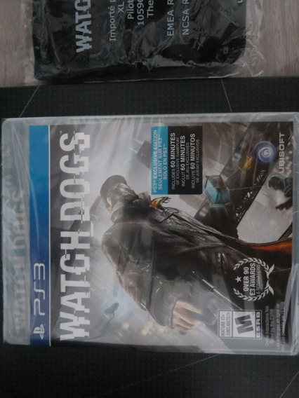 Watch Dogs + Artbook :-) Sony Playstation 3 Ps3