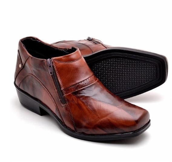 Sapato Bota Jungle Masculino Em 100% Couro Legitimo
