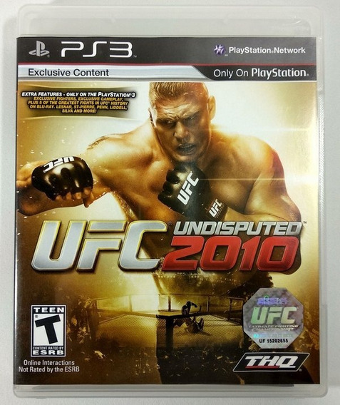 Ufc Undisputed 2010 Playstation 3 Original