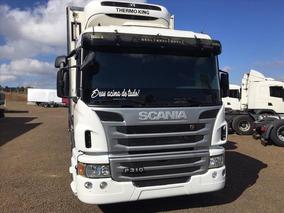 Scania P310 8x2 Bitruck Bau Ibipora Refrigerado Com Entrada