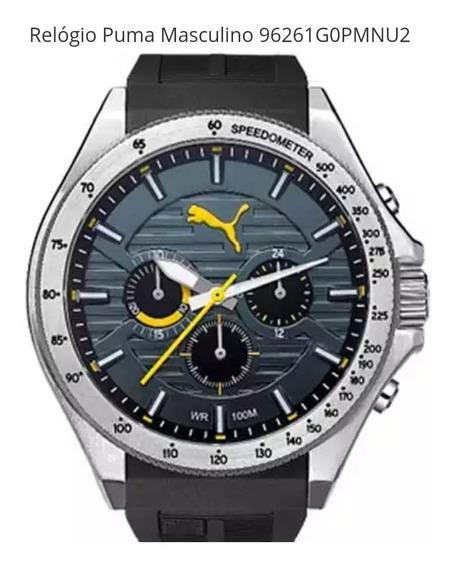 Relógio Masculino Analógico Puma 96261g0pmnu2