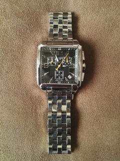 Reloj Tissot T005.517.11.057.00 Hombre Cuadrado Acero Crono