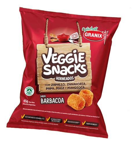 Veggie Snacks Barbacoa Horneados Snack Salado 45g Granix