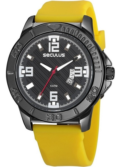 Relógio Seculus Masculino 23650gpsvpi1
