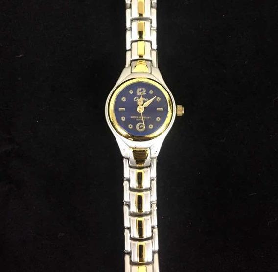 Relógio Feminino Cadina Azul Produto De Mostruário Cod:001