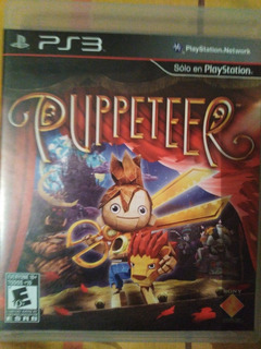 Juego Ps3 Puppeteer