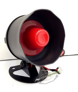 Sirenena Original Bocina Repuesto Cono Rojo 6 Tonos