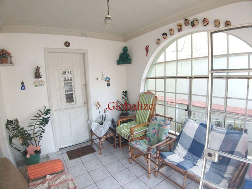 Sobrado Com 3 Dormitórios À Venda, 240 M² Por R$ 1.100.000,00 - Campo Grande - Santos/sp - So0047