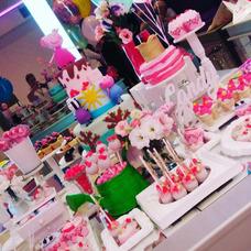 Mesas Dulces+ Torta Cupcakes + Armado