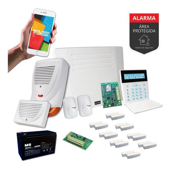 Alarma Para Casa Quinta Wifi Kit - Cableado