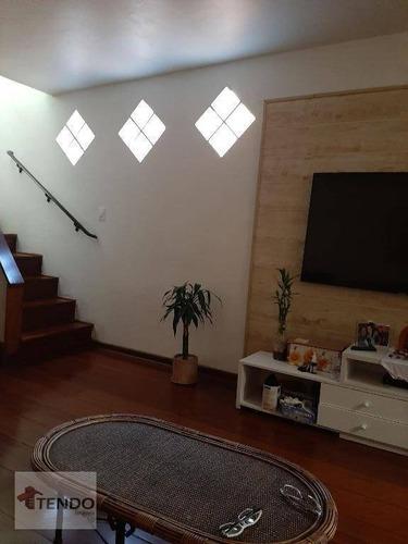 Imagem 1 de 15 de Imob01 - Sobrado 185 M² - Venda - 3 Dormitórios - 1 Suíte - Vila Vivaldi - São Bernardo Do Campo/sp - So0339