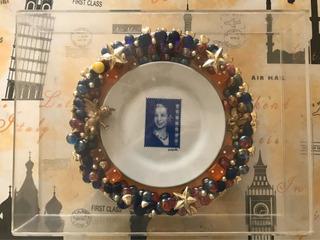 Plato Decorativo De Eva Perón