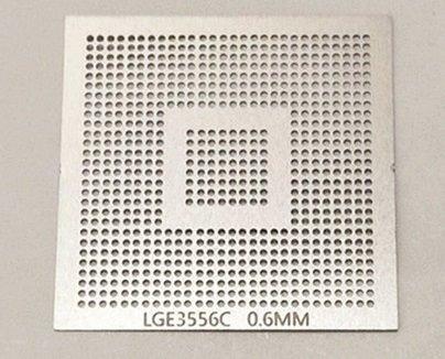 Stencil Calor Direto Lge3556c Bga Hd Lcd Tv Lg + Suporte