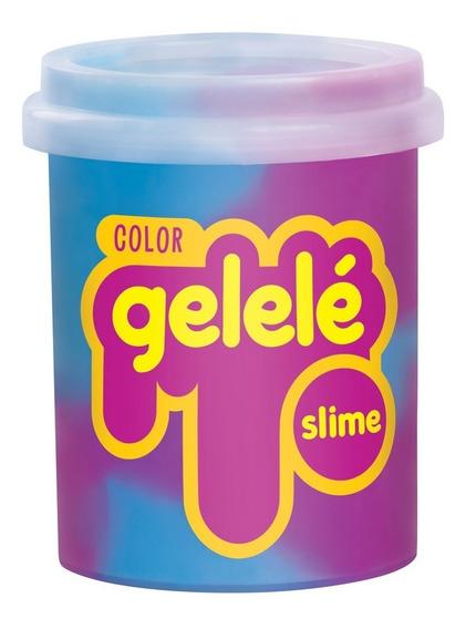 Pote De Slime - 152 Gr - Gelele Color - Azul E Roxo - Doce B