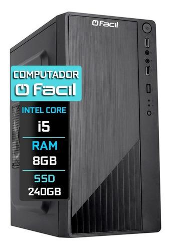 Imagem 1 de 4 de Computador Fácil H61 Intel I5 2400s 8gb Ssd 240gb