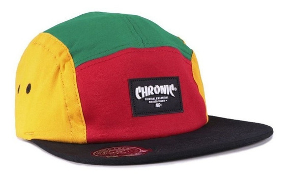 Boné - 5 Five Panel -chronic - Strapback