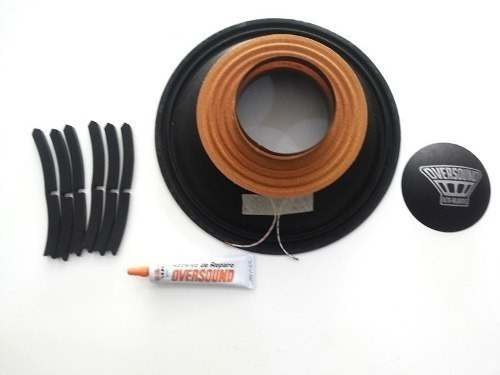 Kit Reparo Oversound Mg12/400 8 Ohms Original Completo