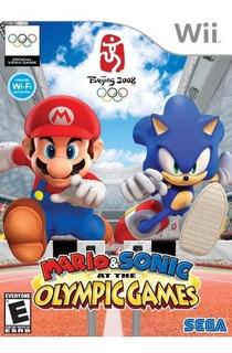 Mario Sonic En Los Juegos Olimpicos Para Wii