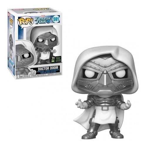 Funko Pop Doctor Doom 591 Exclusive Marvel Los 4 Fantásticos