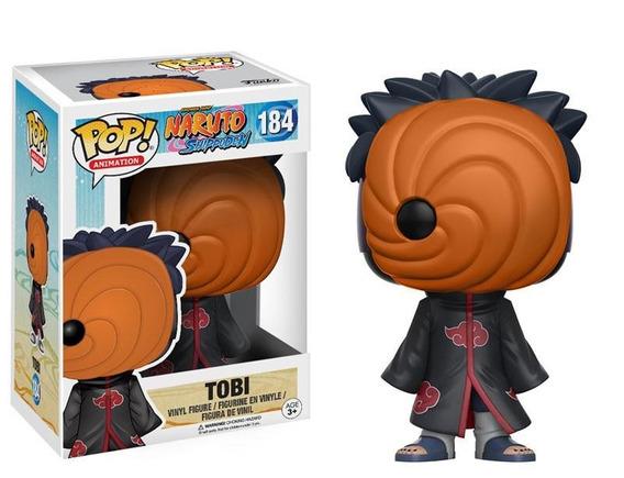 Funko Pop Tobi #184 - Naruto - Nuevo Original