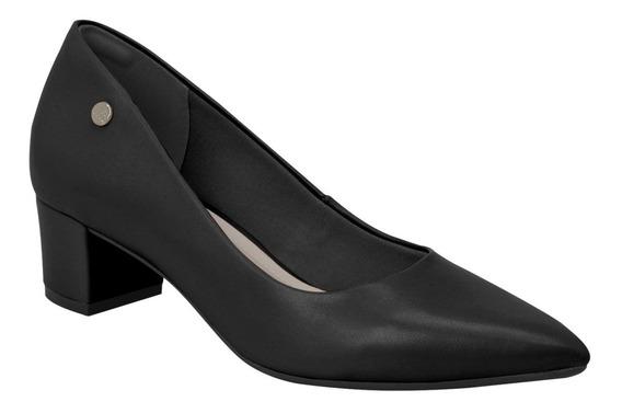 Sapato Scarpin Via Marte Salto Bloco 19-2401