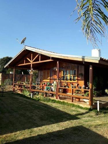 Imagem 1 de 30 de Chácara Residencial À Venda, Parque Souza Queiroz, Cosmópolis. - Ch0007