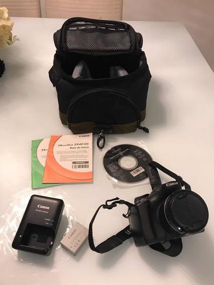 Câmera Canon + Kit Completo