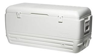 Caixa Térmica Cooler 142 L Quick Cool Alças Igloo Branca