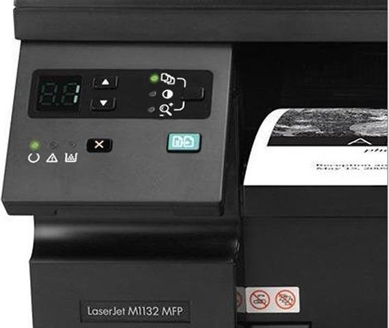 Impressora Multifuncional Hp Laser Jet M1132 Usada - Revisad