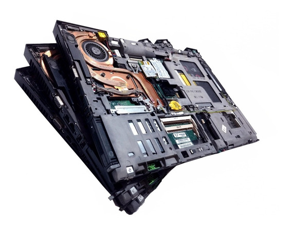 Placa Lenovo T61 Leva Core2 Duo E Carcaça Base