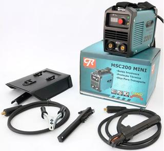 Máquina De Solda Inversora Mini Msc200a Cr Industrial 110v