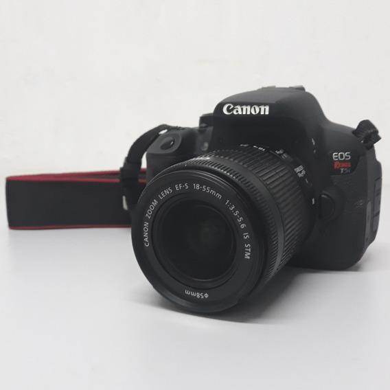 Canon Eos Rebel T5i - Lente 18-55mm + Bolsa + Cartão Sd 16g