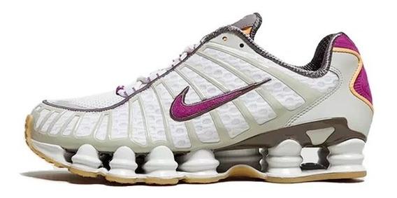 Tenis Masculino Nike Shox Tl 12 Molas Original Novo Na Caixa