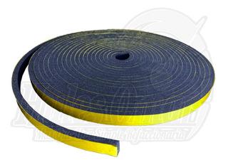 Rollo Cinta Hule Esponja Auto Adhesiva Tesamol 1/2x1/4x10mts