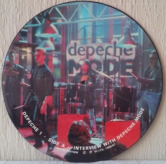 Depeche Mode - Depeche 1 Interview With Dm Vinilo Picture Uk