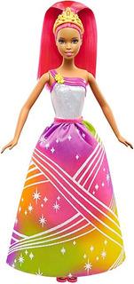 Muñeca Afroamericana Barbie Rainbow Princess Espectáculo