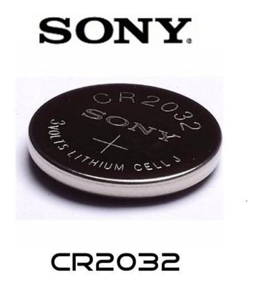 Bateria Sony 2032 Original - Cartela C/ Cinco Unidades