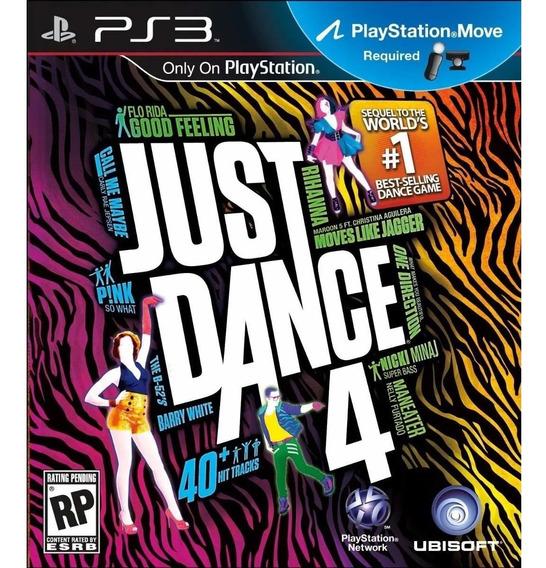 Jogo Ps3 Just Dance 4 Midia Fisica Novo Lacrado!!