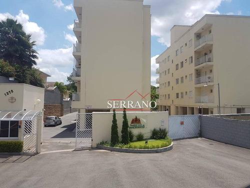 Apartamento À Venda, 75 M² Por R$ 330.000,00 - Pinheirinho - Vinhedo/sp - Ap0426