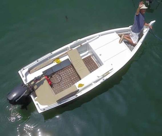 Bote De 16 Pies, Motor Evinrude De 25hp, Ideal Paseo Y Pesca