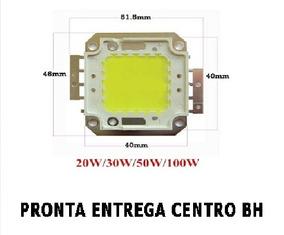 Chip Led Branco Frio 6000k Para Refletor 50w 100w 150w 200w