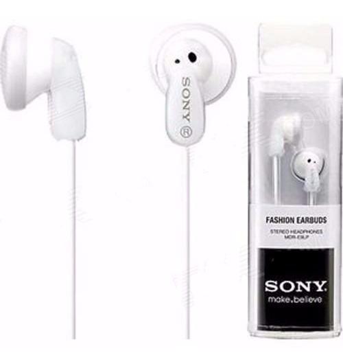 Fone Ouvido P2 Sony Mdr-e9lp Intra Auricular Branco