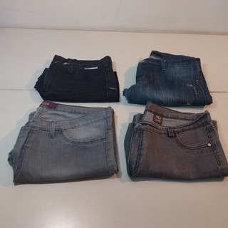 Lote De 4 Jeans Mujer Talles 40, 44, 52