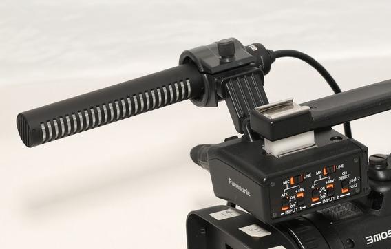 Panasonic Ag-myag30g Xlr Adapter & Microfone Sony Shotgun