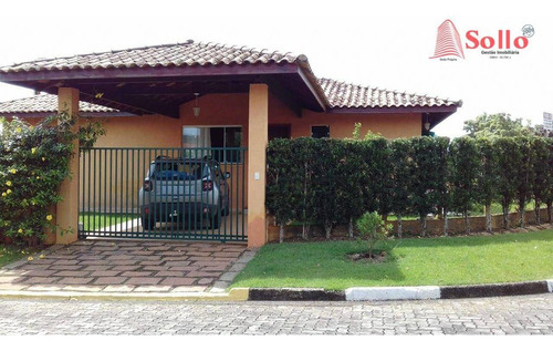 Casa Com 4 Dormitórios À Venda, 278 M² Por R$ 1.500.000,00 - Condomínio Novo Horizonte - Piracaia/sp - Ca0078