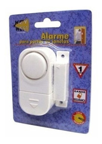 Alarme Magnético Com Sirene P/ Portas Ou Janelas Key West *