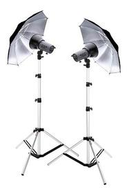 Kit Iluminação Fotográfica Estúdio - Nacional 110v/220v